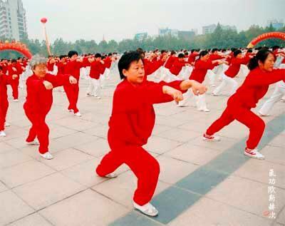 Tai Chi groep